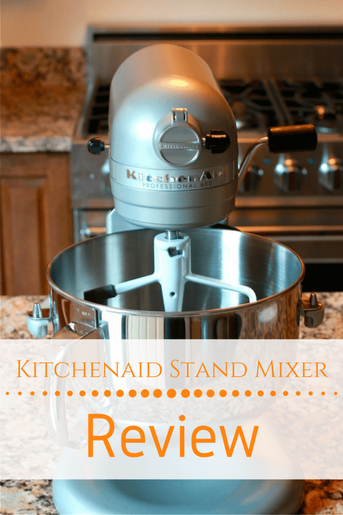 Read my honest review of the KitchenAid Pro 600 Stand Mixer.