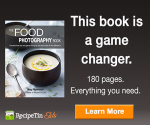 eBook cover of Food Photography Book