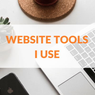 Website Tools I Use