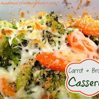 Carrot and Broccoli Casserole