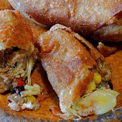Chicken and Quinoa Southwest Egg Rolls