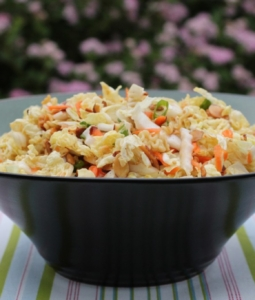 Chinese Cabbage Salad in a big bowl