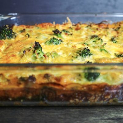 Turkey Sausage Breakfast Casserole