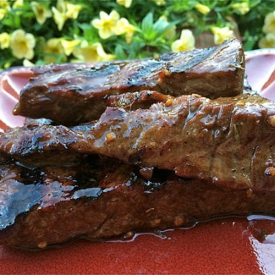 Grilled Sirloin Beef Tips
