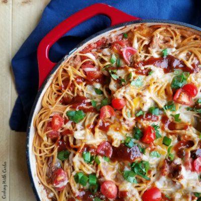 Pulled Pork Spaghetti