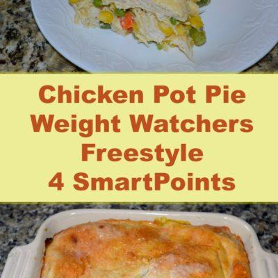 Chicken Pot Pie Weight Watchers Freestyle 4 Smart Points