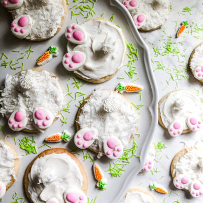 Easy Bunny Butt Easter Cookies