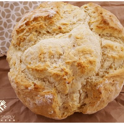 Traditional Irish Soda Bread and Spotted Dog