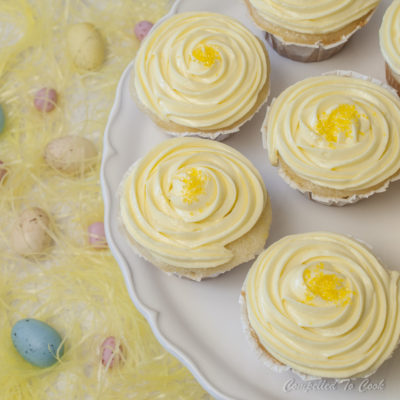Lemon on Lemon Cupcakes