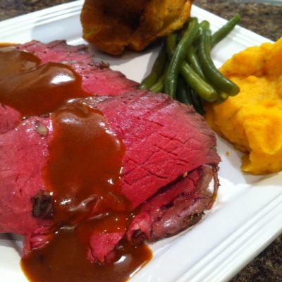 Roast Beef with Fresh Herbs