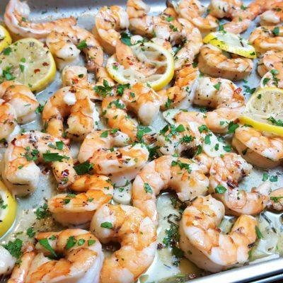 Easy Rosemary Garlic Shrimp