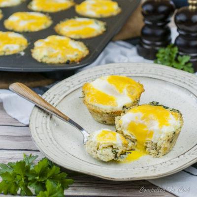 Quinoa Spinach Egg Cups