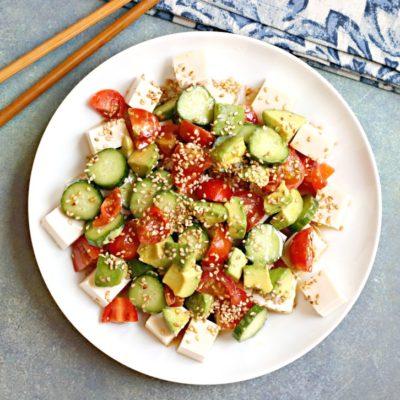 Silken Tofu Salad