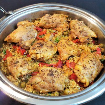 Chicken and Rice (Arroz Con Pollo)