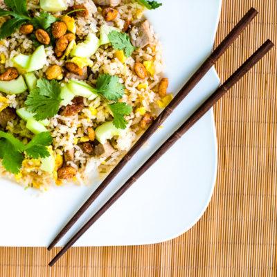 Spicy Thai Pork Fried Rice