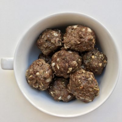 Dairy-Free and Egg-Free Meatballs