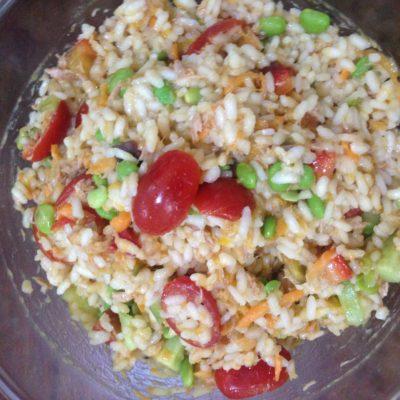 Vegetarian Rice Salad