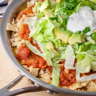 Mexican Layered Frittata