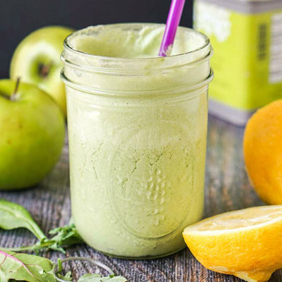 Power Greens Coconut Ginger Smoothie