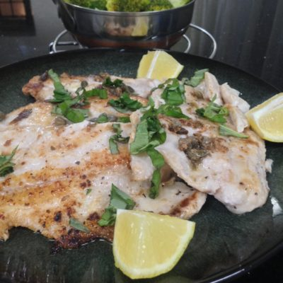 Lemon Capers Red Snapper Fillet
