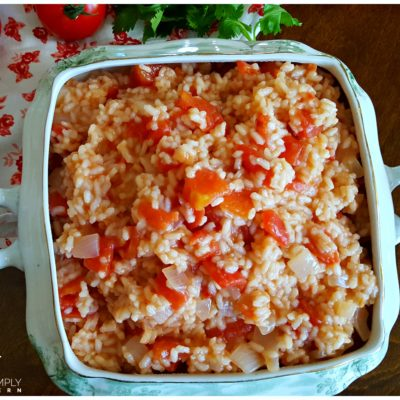 Classic Southern Tomatoes and Rice