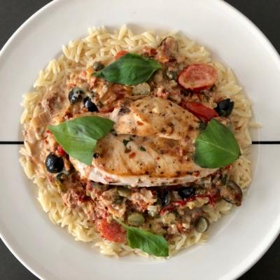 Mediterranean Oven Chicken