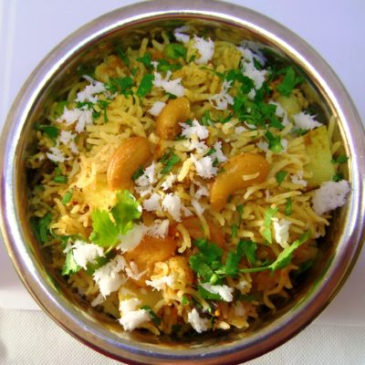 Spicy Indian Rice – Masala Rice