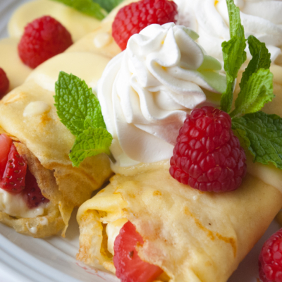 Berry Breakfast Crepes