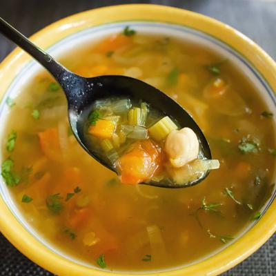 Spicy Moroccan Lentil Soup