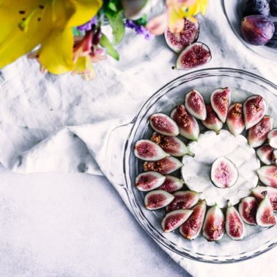 Baked Brie with Figs and Maple