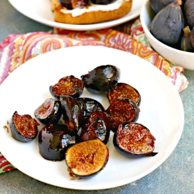 Caramelized Figs with Balsamic Vinegar