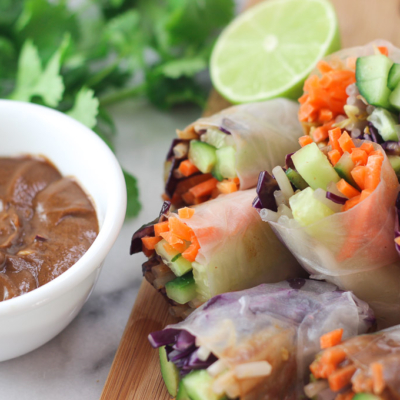 How to Make Cucumber Spring Rolls