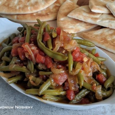 Lebanese Green Beans – Loubieh B'zeit