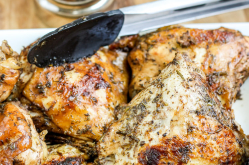 Roasted Balsamic Chicken