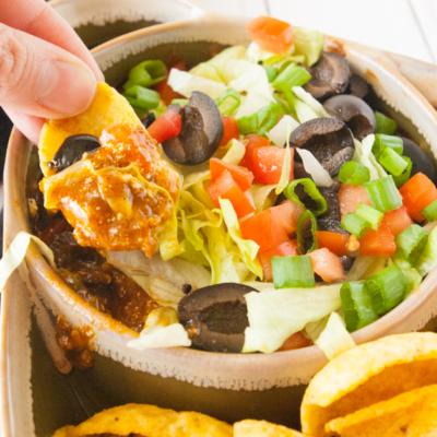 Hot Taco Chili Dip