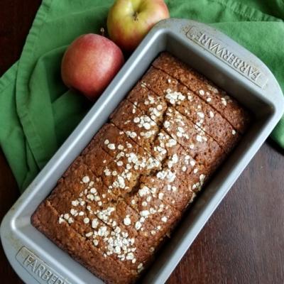 Applesauce Oatmeal Bread With Vanilla Honey Butter