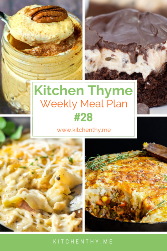 Kitchen Thyme Weekly Meal Plan Logo