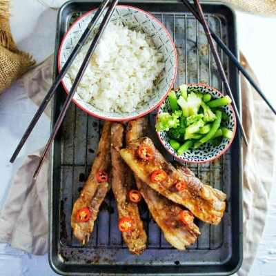 Honey Soy Pork Ribs