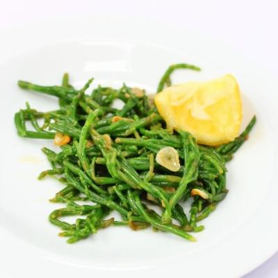 Buttery Garlic and Lemon Samphire