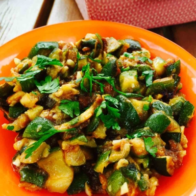 Best Ever Courgette Salad