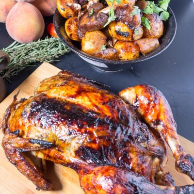 Balsamic Maple Roast Chicken