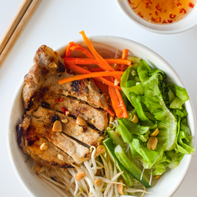 Grilled Pork Rice Vermicelli