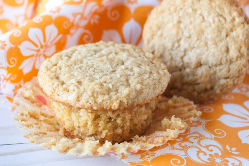 2 Buttermilk Oatmeal Muffins