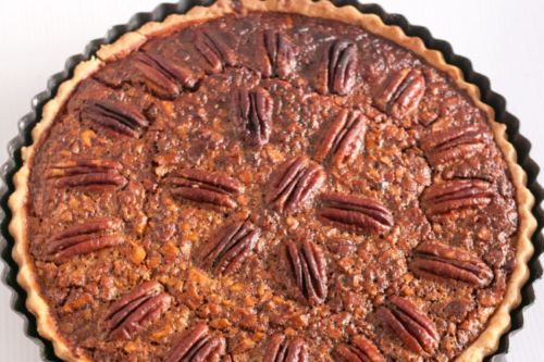 Classic Pecan Pie with Golden Syrup