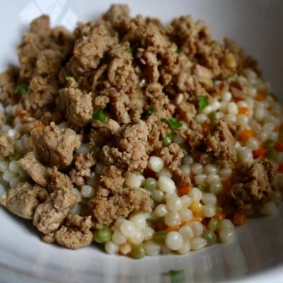 Sweet Korean Turkey With Couscous