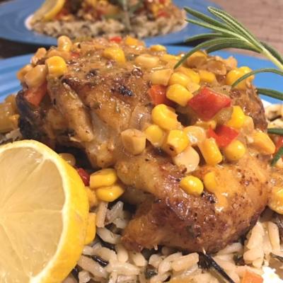Southwest Chicken Thighs