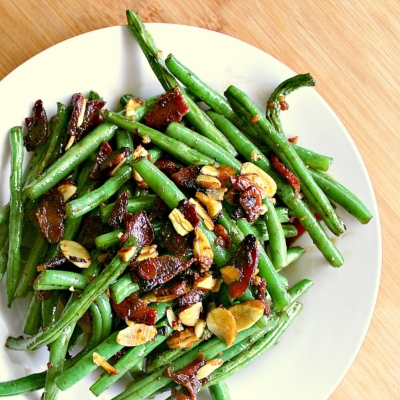 Low Carb Green Beans with Bacon