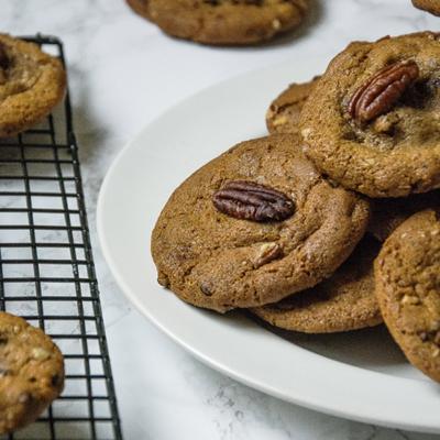 Brown Butter Pecan Cookies