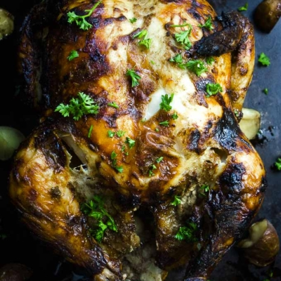 Indian Spiced Roasted Chicken