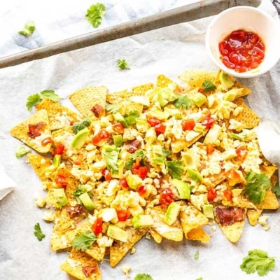 The Best Breakfast Nachos